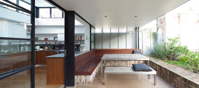 Smee Schoff House contemporary-patio