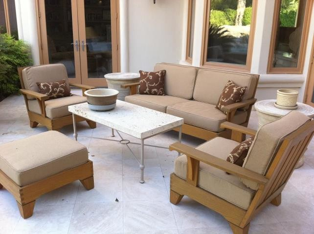 Smith Hawken Replacement Cushions Contemporary Patio Miami By Outdoorfabrics