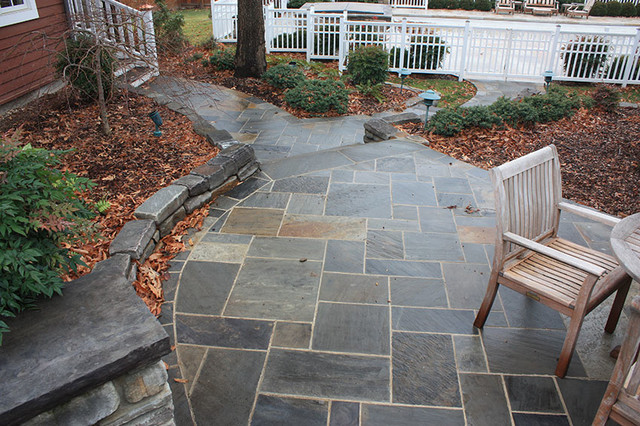 Good Smokey Mountain Blue PaversConcrete Patio Pavers How To Make Concrete Patio  Pavers So I