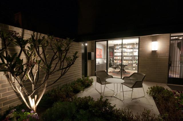 Soho Melbourne contemporary-patio
