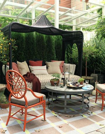Soho Mews eclectic-patio