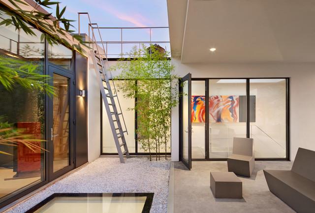 soho penthouse modern patio
