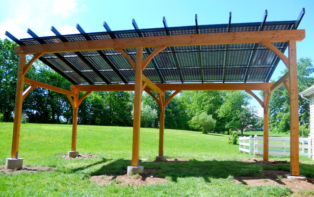 What Are Solar Pergolas Little Modernist