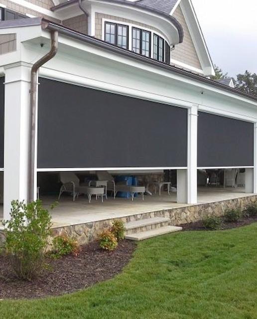 Solar Shades contemporary-patio