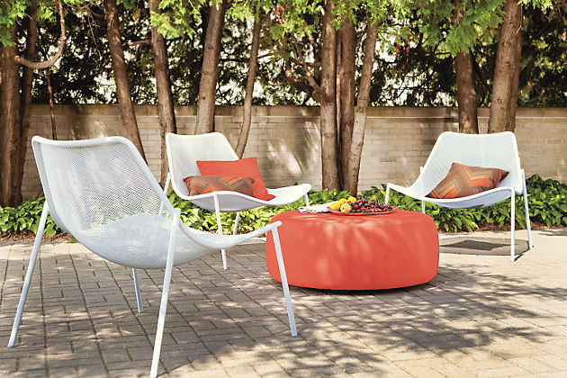 Soleil Lounge Chairs And Boyd Ottoman By Ru0026B Modern Patio
