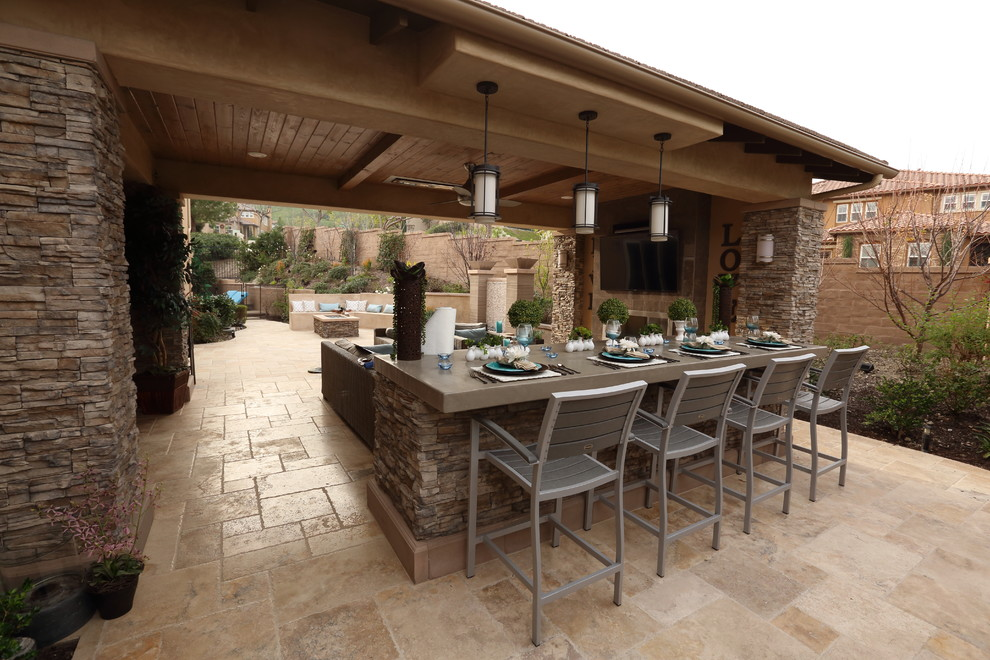 Solid Patio Cover - California Room - Modern - Patio ...