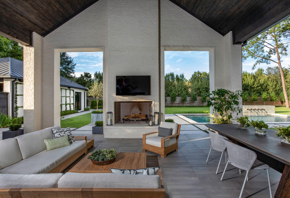Inspiration for a patio remodel in Houston