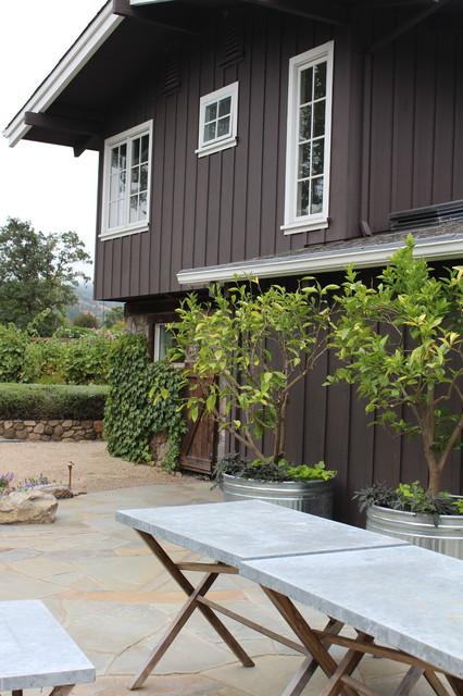 Sonoma Back Yard Renovation mediterranean-patio
