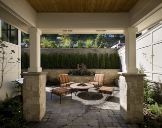 Sonoma House - Traditional - Patio - portland - by Ronda Divers Interiors, Inc.