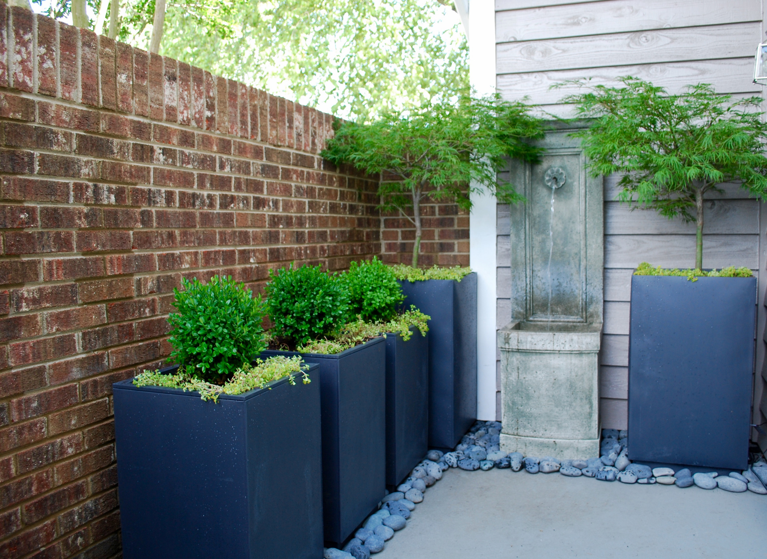 South Charlotte Condo Courtyard Redesign