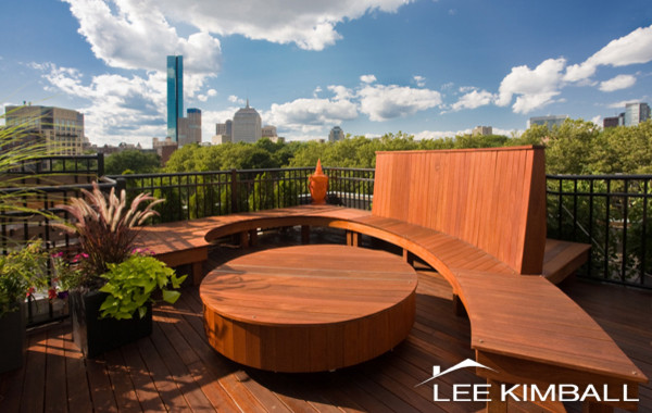 South End Roof Deck contemporary-patio