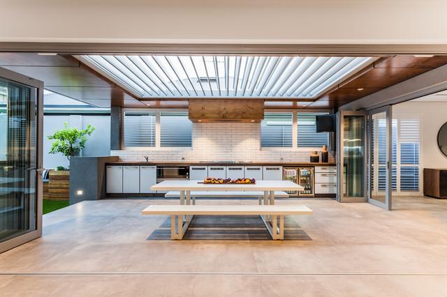 South Perth Custom Build contemporary-patio