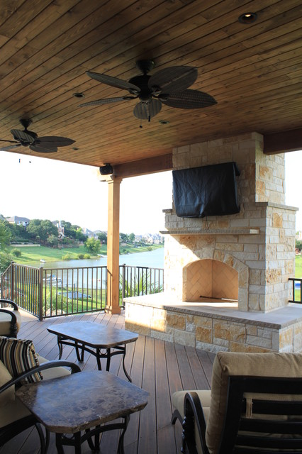 Southwest Fence & Deck: Outdoor Living Space traditional-patio