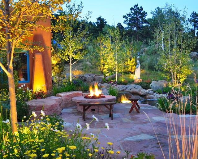southwestern landscape southwestern patio other by