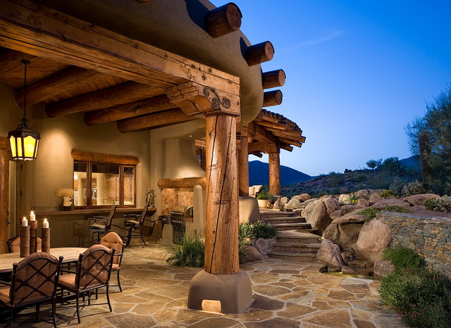 Organic Southwest Southwestern Patio Phoenix By