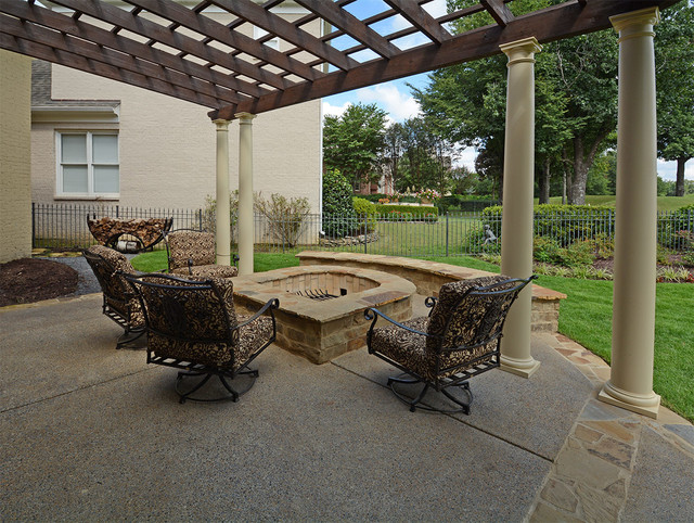 Southwind Memphis Outdoor Living Area Rustic Patio Other by Landscape