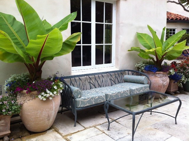 Spa Blue Deep Seating Outdoor Cushions Traditional Patio