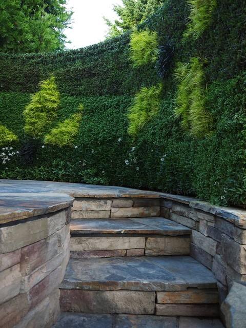 Spa Living Wall contemporary-patio
