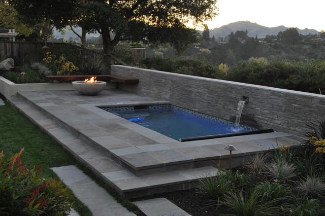 spa terrace moderne terrasse et patio san francisco par huettl landscape architecture. Black Bedroom Furniture Sets. Home Design Ideas