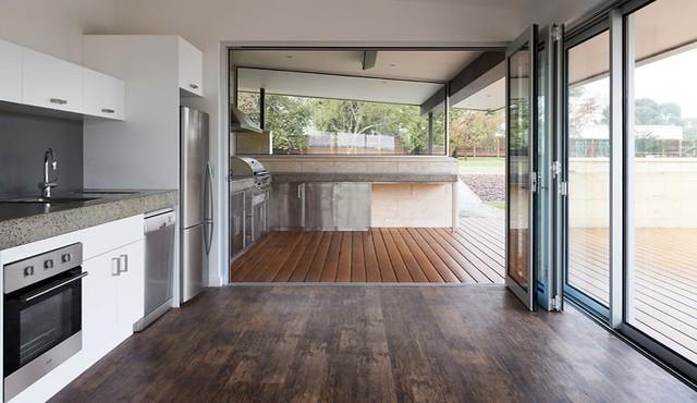 space house modern-patio
