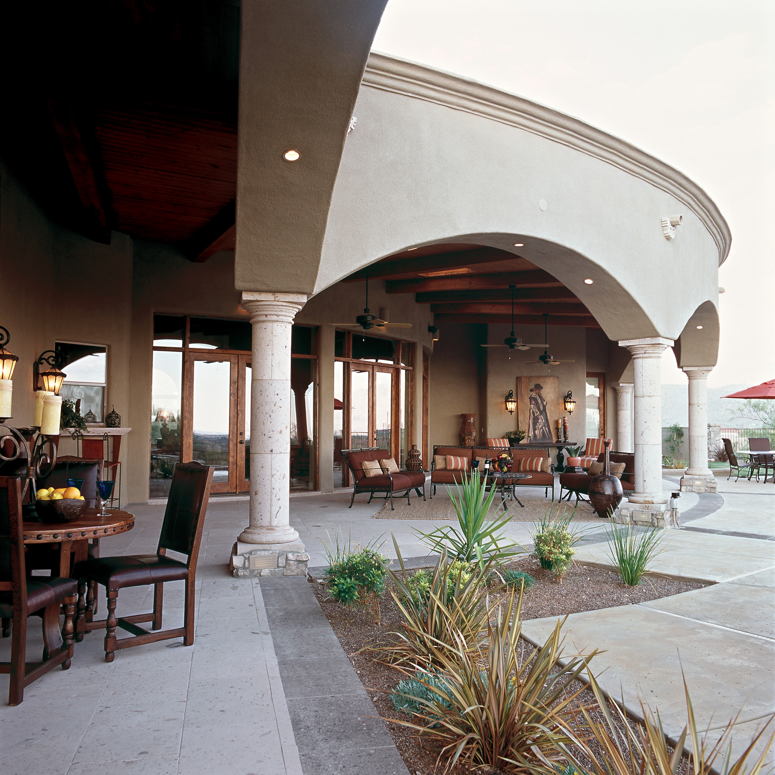 Spanish Colonial Outdoor LIving