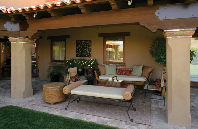 Spanish mexican colonial - Mexican style patio design ...