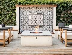 Idea del Mese: Un Forno a Legna in Giardino in California