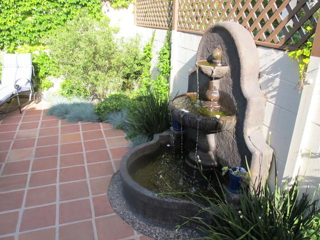 Mediterranean Inspired Backyards : Spanish Style Backyard Redo  Mediterranean  Patio  Los Angeles