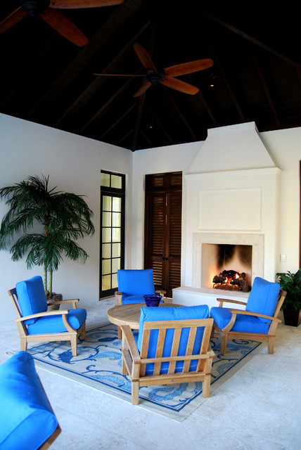 Spice Bay (British West Indies) traditional-patio