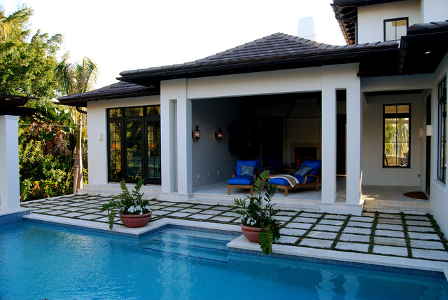 Spice Bay British West Indies Traditional Patio Tampa By Perrone Construction Custom Homes