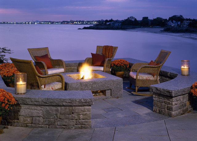 Spindrift traditional-patio