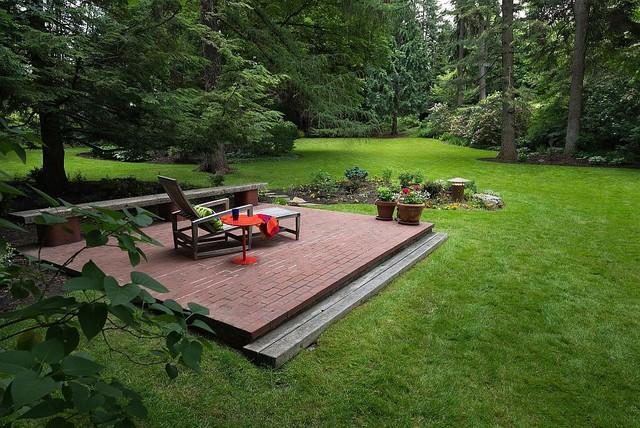 Spokane Midcentury - Mary Jean & Joel E. Ferris, II House midcentury-patio