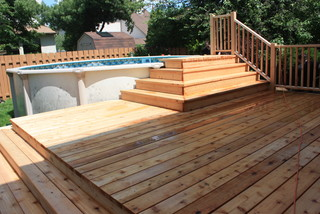 Spring 2012 Platform Deck To Aboveground Pool