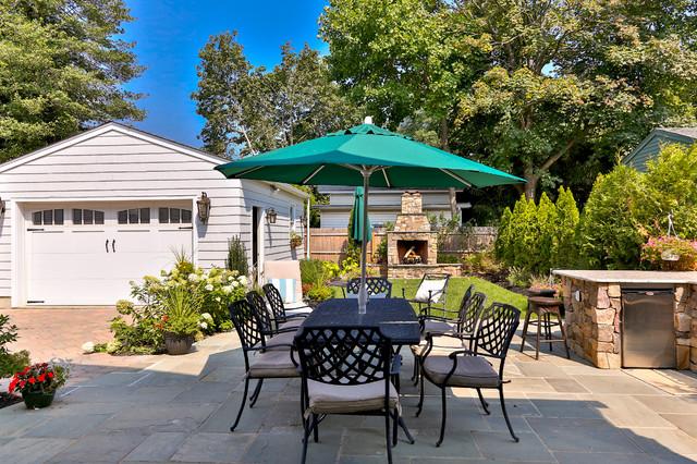 Spring Lake Home beach-style-patio
