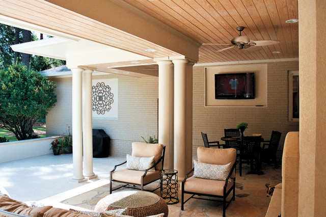 Springlake Residence contemporary-patio