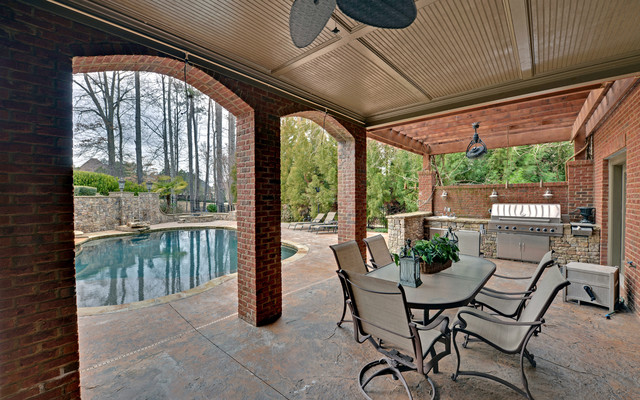 St. Marlo Golf & Country Club traditional-patio