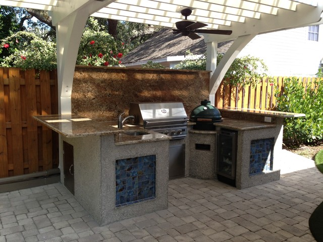 St Petersburg Fl Beach Style Exterior Tampa By Outdoor Kitchen And Grills Llc