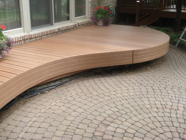 Stained Decks contemporary-patio