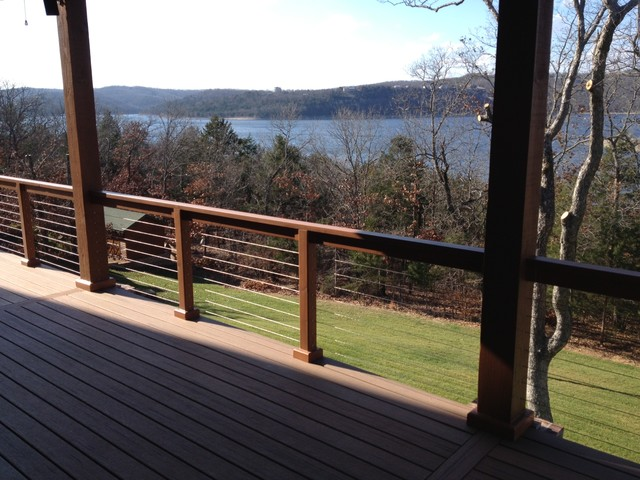Beau Stainless Steel Cable Railing Systems   Modern   Patio   Portland ...