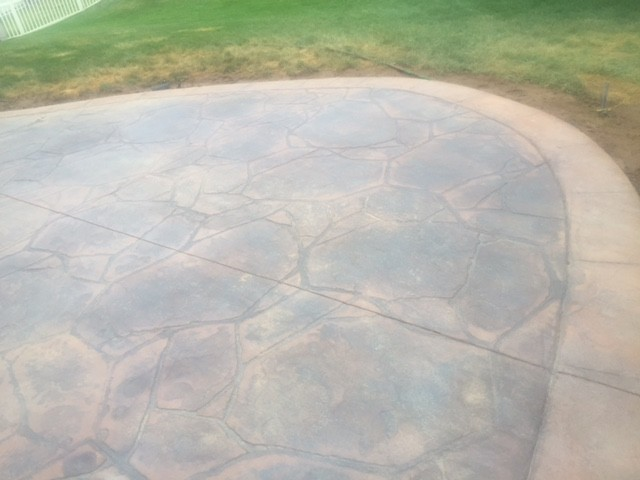 Stamped Concrete Patio Eureka, Missouri