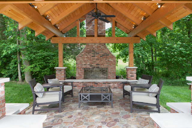 Stanton Outdoor Traditional Patio louisville by Jonathan Stanton Inc