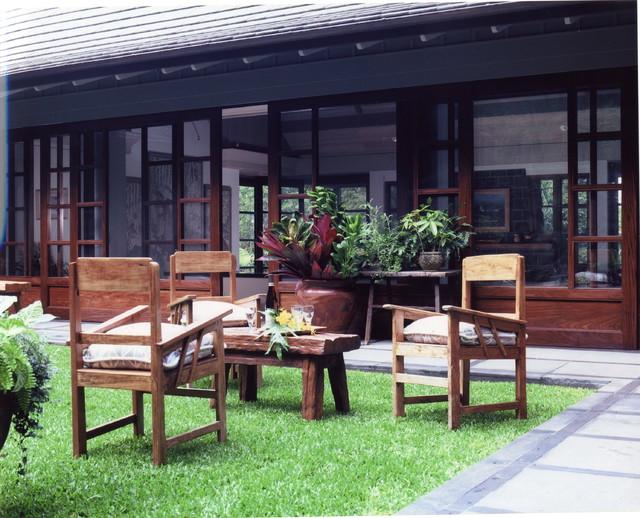 Steele Residence tropical-patio