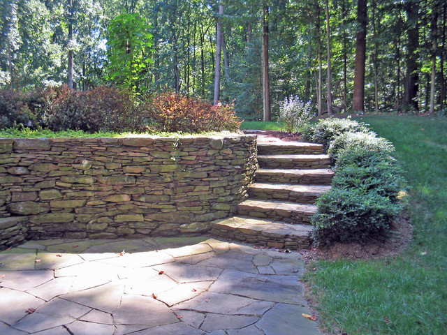 Stone Walls Amp Veneers Modern Patio Dc Metro By