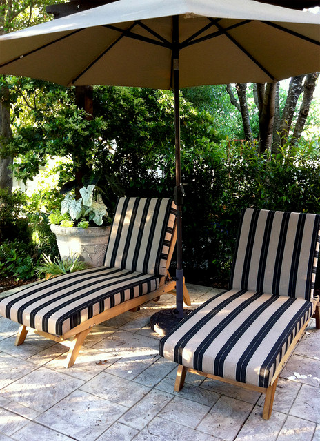 Chaise Lounge Cushions traditional-outdoor-cushions-and-pillows