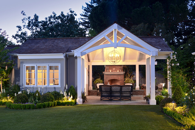 3-Season Rooms: Open-Air Living in a Guest Cottage Pavilion