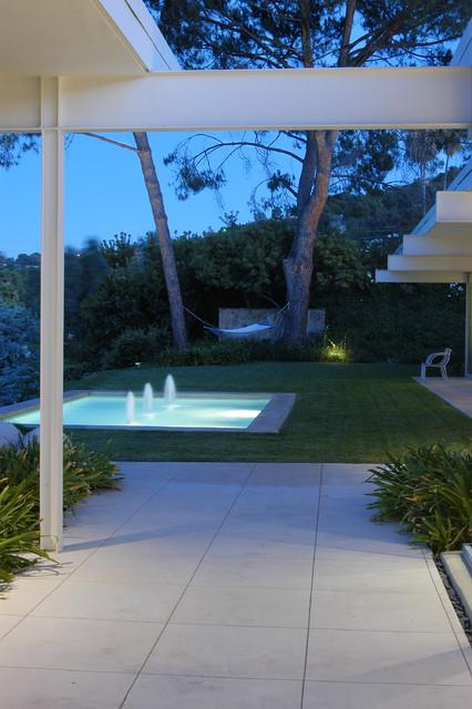 studio city G house midcentury-patio