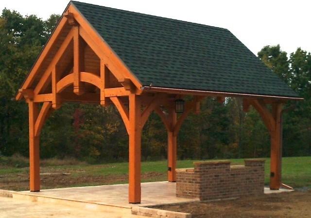 Summit Pavilion Kit traditional-patio