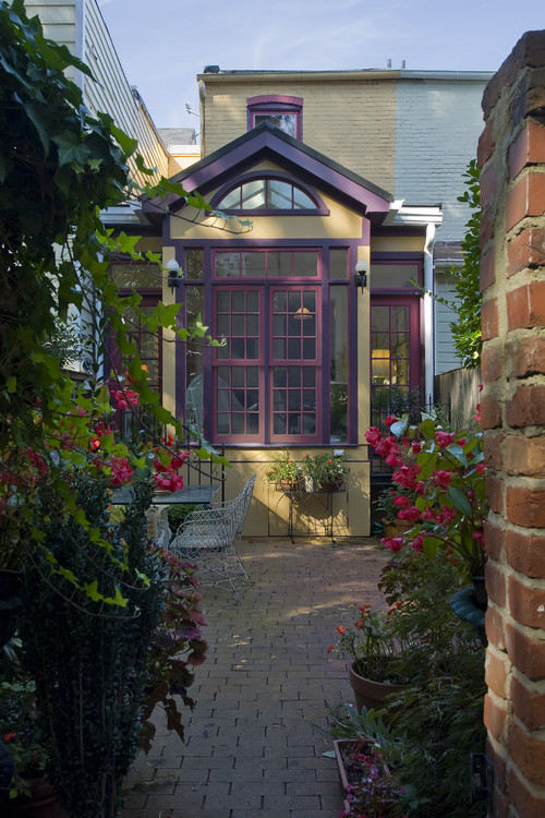 Traditional Patio by Alexandria Architects & Building Designers Christine Kelly / Crafted Architecture