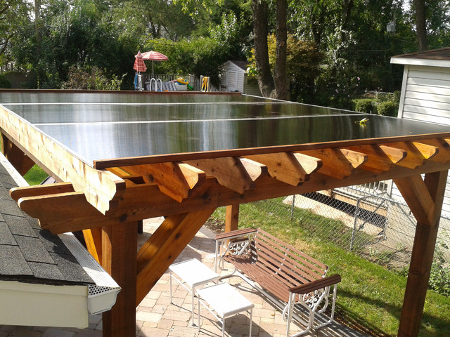 Sunglass pergola traditional-patio - Sunglass Pergola - Traditional - Patio - Chicago - By Barnett