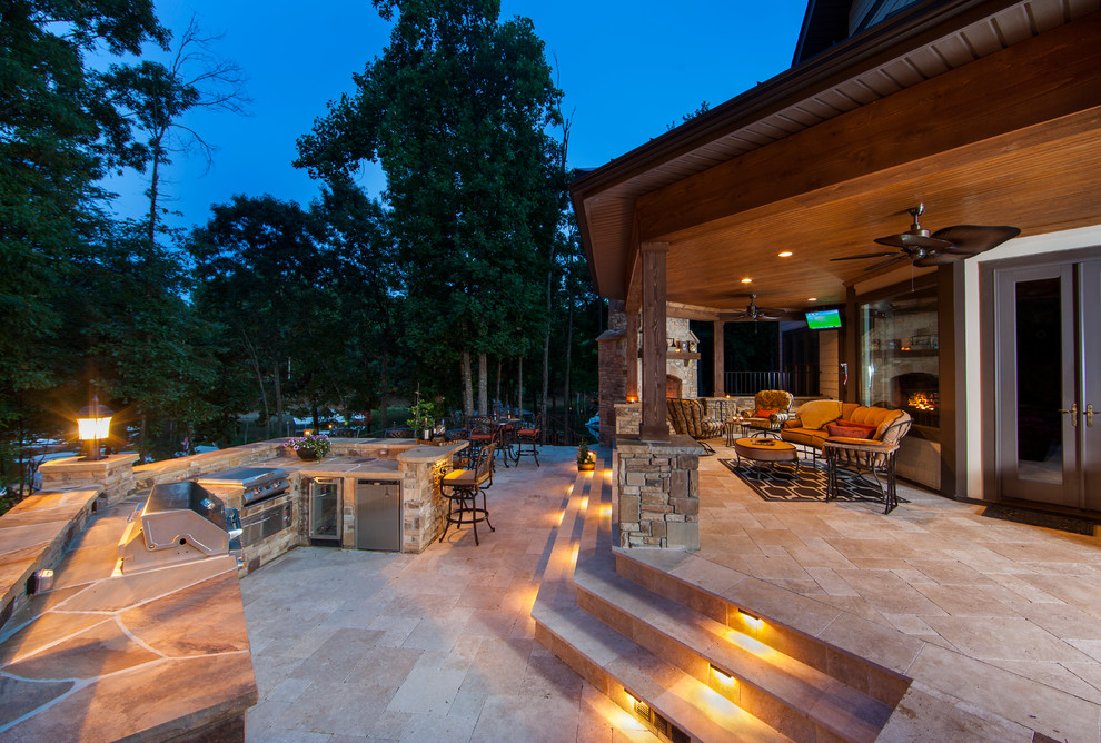 Patio - traditional patio idea in Charlotte with no cover